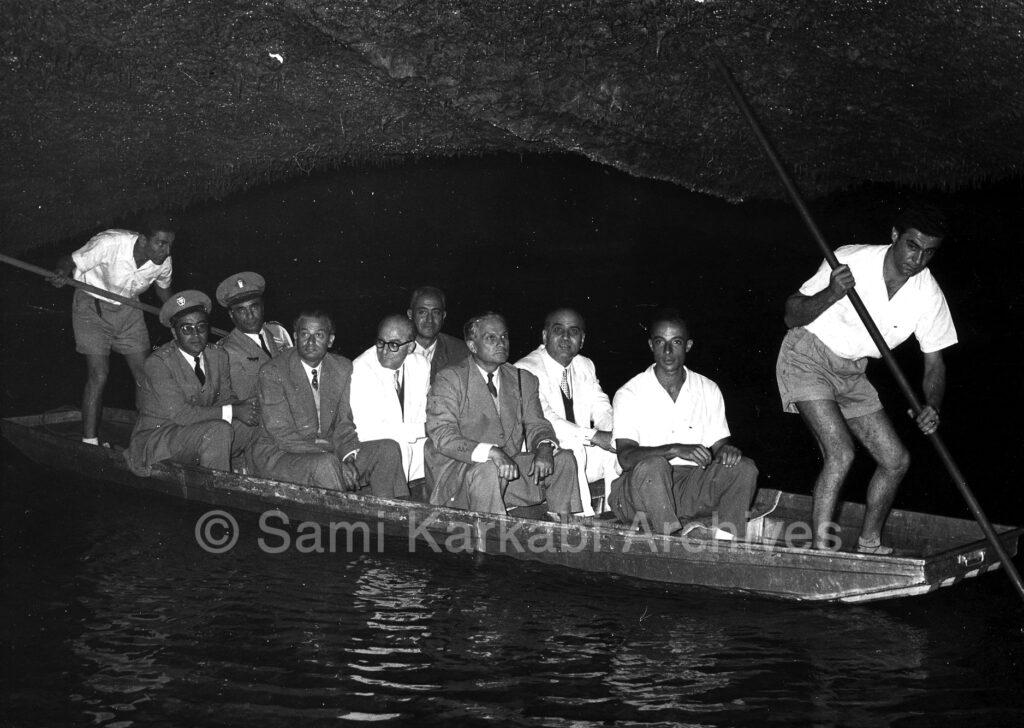 Inauguration of Lower Gallery - Jeita - 1956